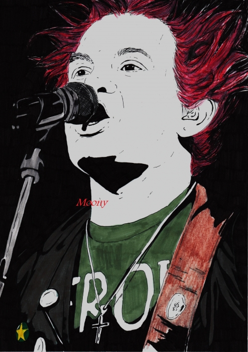 Deryck Whibley by Moony36